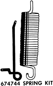 Whirlpool 674744 Dishwasher Door Spring Kit Genuine Original Equipment Manufacturer (OEM) Part