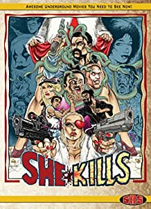 She Kills Limited Edition Bluray