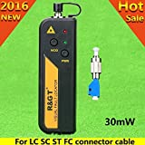 R&T30mW Mini Visual Fault Locator Fiber Optic Cable Tester/VFL For FC,SC,ST & LC Adapter