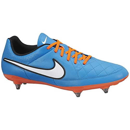 newest 7c728 9c41e Nike Tiempo Genio Leather SG Men's Football Boot, Blue ...