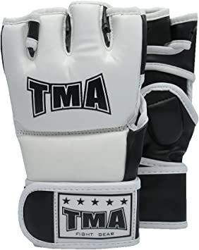 TMA MMA Gloves UFC Fight Heavy Bag Glove Boxing Fitness Training Grappling Punch