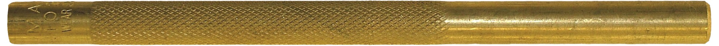 Wright Tool 9M25077 3/8-Inch Knurled Brass Drift Punch, 6-Inch