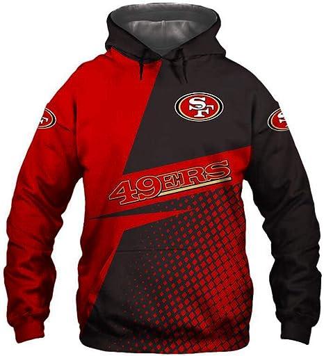 3XL 2XL M 5XL BLACK Crew Neck Sweatshirt- S SAN FRANCISCO 49ers XL 4XL L
