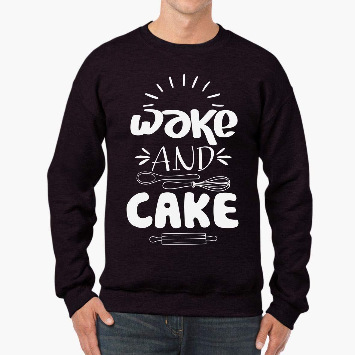 tee Wake Cake Baking Pastry Chef Unisex Sweatshirt