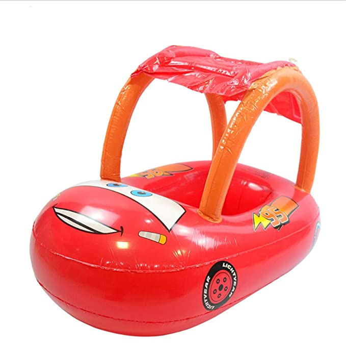 LHKJ Baby Swimming Circle con Asiento Infantil Piscina Inflable ...