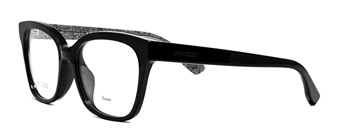 f4c6a6bffd7 Image Unavailable. Image not available for. Color  Eyeglasses Jimmy Choo ...