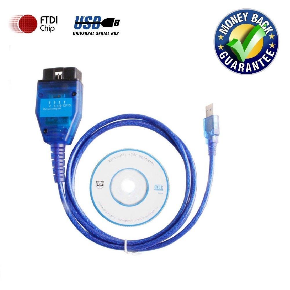 Goldplay, FT232RL, cavo interfaccia OBD2 KKL 409.1, cavo USB con interruttore, strumento di diagnostica dell' auto per software Fiatecuscan strumento di diagnostica dell' auto per software Fiatecuscan