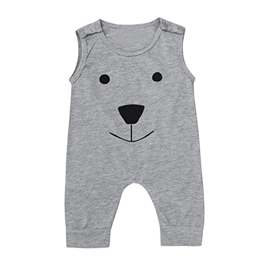 d266ed6d4 Amazon.com  Kehen Infant Newborn Baby Girl Boy Summer Clothes Cotton ...