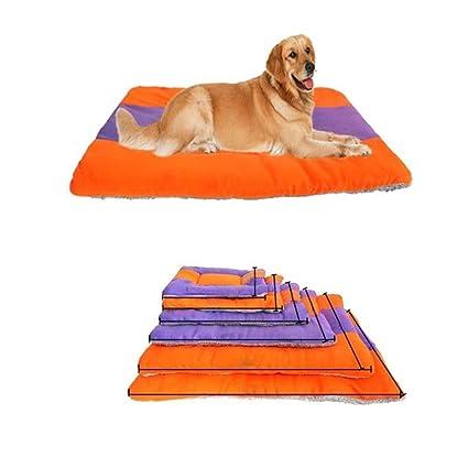 FEIDAjdzf Cama de Perro para Dormir Nido, Color Invierno Bloque Perro Gato Cachorro Cama Pad