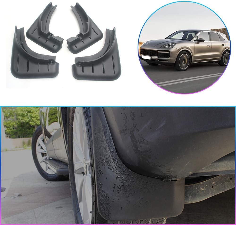 Maiqiken Car Custom Mud Flaps Splash Guards for Porsche Cayenne 2008-2010 2011-2017 2018-2019 Auto Mud Guards Automotive Splash Guards Mudguards Mudflaps Fender Front /& Rear Wheel 4Pcs
