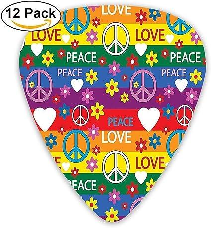 Símbolo de la paz del corazón Poder floral Flower Hippie Colores ...