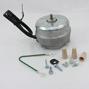 Whirlpool 833697 Refrigerator Condenser Fan Motor Genuine Original Equipment Manufacturer (OEM) Part