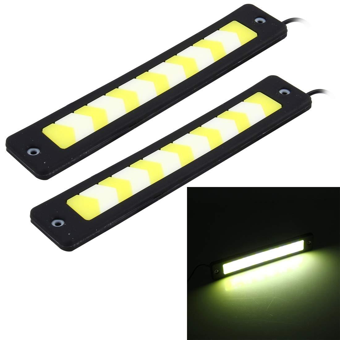 Éclairage de la voiture, 2 lampes à diodes électroluminescentes à diodes électroluminescentes à DEL de 6 W de PCS, DC 12 V BMD-Light