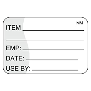 DayMark Safety Systems-IT111221 Removable Item/Date/Use-by Shelf-Life Label, 1