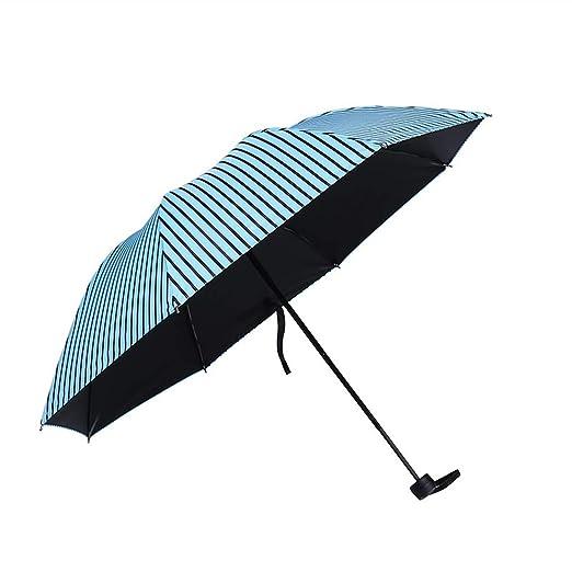Sabarry UV - Paraguas automático bastón Pantalla Grande Paraguas Mujer Niños Double Layer Resistente al Viento Multicolor 1 Talla única: Amazon.es: Jardín
