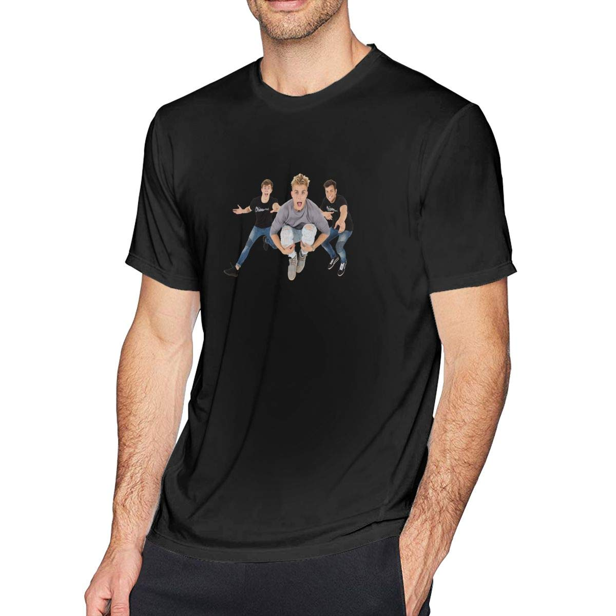 DaihAnle Jake Paul Mens Casual Fashion Short Sleeve T-Shirt