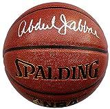 #3: Kareem Abdul-Jabar Los Angeles Lakers Signed Spalding Basketball JSA