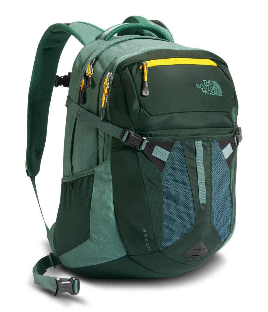 The North Face Recon Laptop Backpack 15''- Sale Colors (Darkest Spruce)