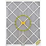 BestAir PF2025-1 Furnace Filter, 20 x 25 x 1, Carbon Infused Pet Filter, MERV 11, 6 pack