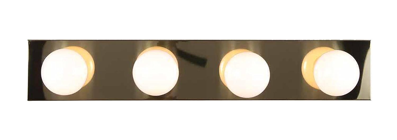 Volume Lighting 4-Light Chrome Bathroom Vanity V1024-3 Chrome