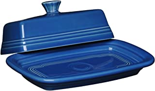 product image for Fiesta Covered Butter Dish, X-Large, Lapis