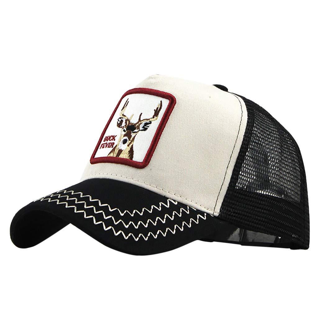 Cebbay Sombreros Hombre Sombrero de Lona de Patrulla Militar de Estudiante Gorras de b/éisbol