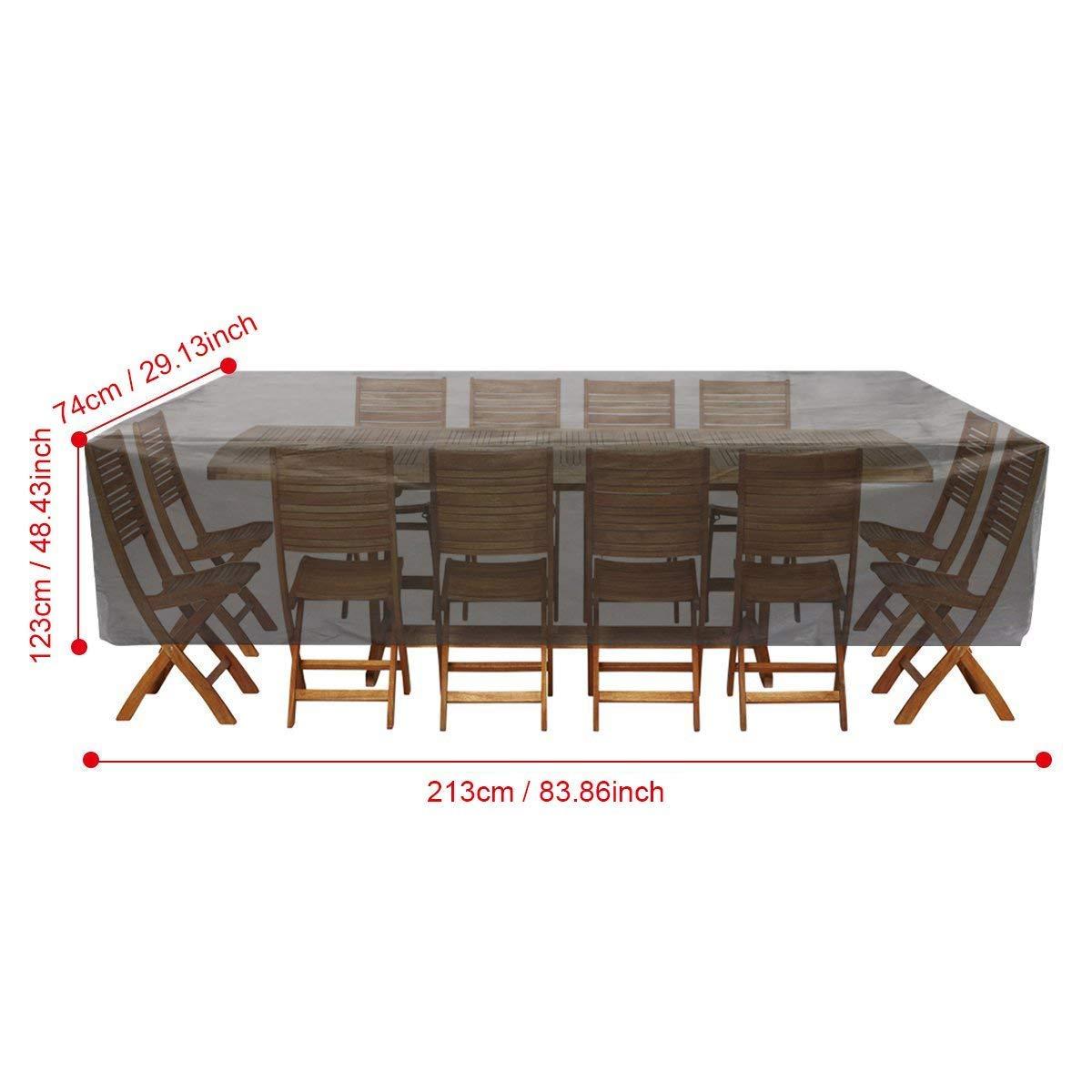 Gartenmöbel Abdeckhauben Sofa, Essort 123 X 123 X 74cm Schutzhülle  Furniture Terrasse Abdeckung, Wasserdicht, Premium Waterproof ...