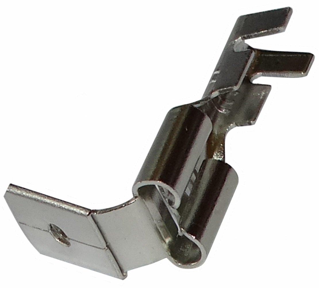 100x Cosses /électriques m/âle//femelle plate 6.3mm 0.8mm 0,5...1mm2 Aerzetix