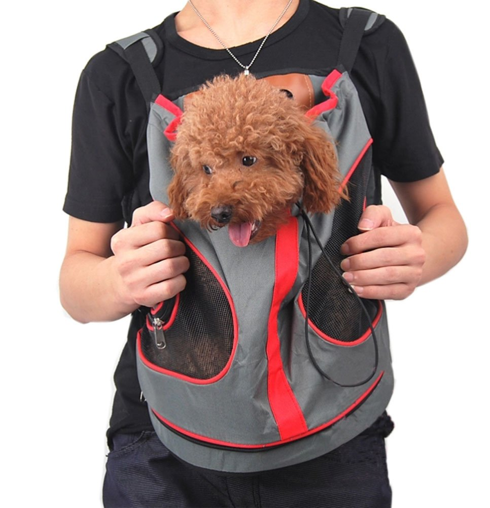 Nylon Chest Carrier Backpack Bag for Pets Dogs (2829cm, Up to 8.8LB)