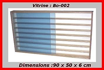 Bmd Vitrine Murale Bo 002 Pour Miniature Collection Train Voies N