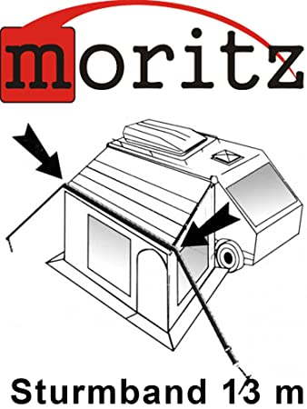 Original Moritz Storm Band 13 M Storm For Tent Awning To Protect Strap