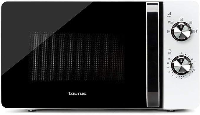 Taurus Microondas Fastwave 20, 20L, 700W, 6 potencias