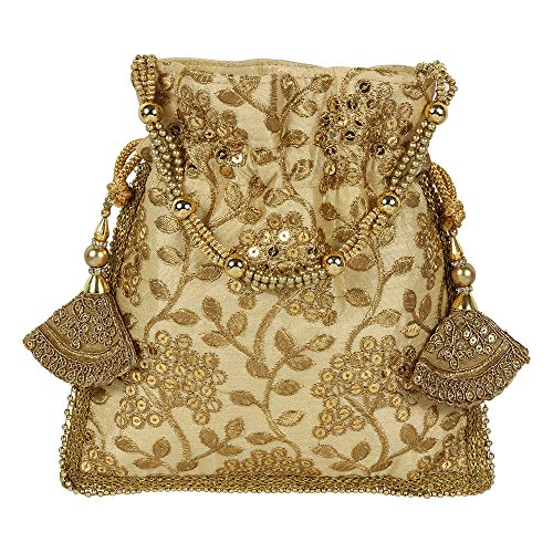 Purse Womens Embroidery Beautiful For Golden Collection Purse Colured Polti r8OywrxqE