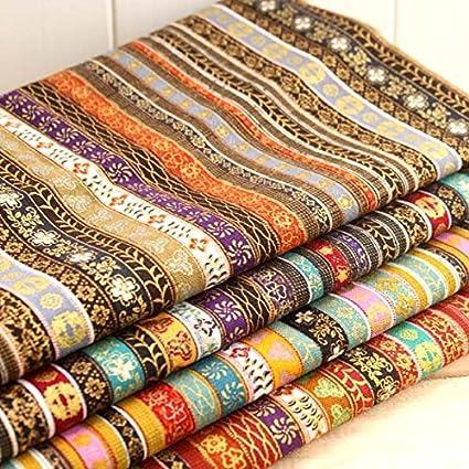 4 Telas exoticas africanas colores tribales de 50 X 70 cm para ...