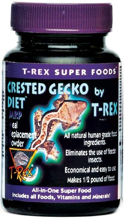 T-Rex Sandfire Super Foods Crested Gecko Diet MRP Meal Replacement Powder, 1.75 oz