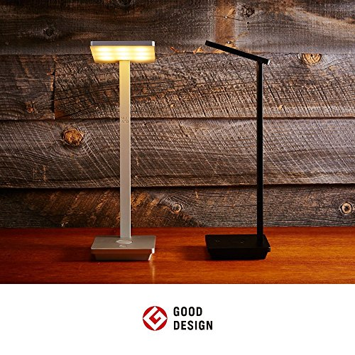 NuAns [TILE] iPhone & iPad Lightning Charging Dock, Desk Lamp with USB, Apple Certified MFi, Black-Award Winner of iF Design Award 2016/2015 Good Design Award & Best of CES 2015|Gift & Presents by NuAns (Image #6)