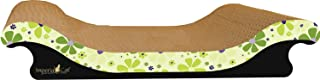 product image for Imperial Cat Scoop Scratch 'n Shape, Retro Lime Floral