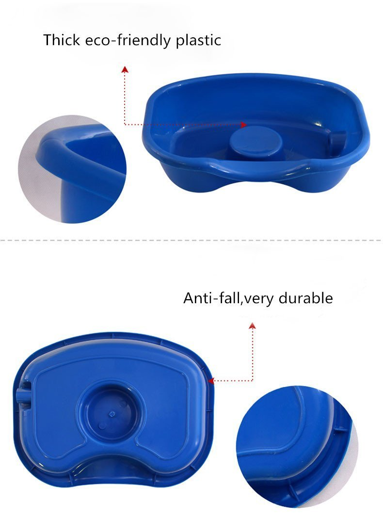 JINHONG Medical Easy Bed Shampoo Basin Hair Washing Basin Tray for The Disabled-Pregnant Women-Elderly-Child