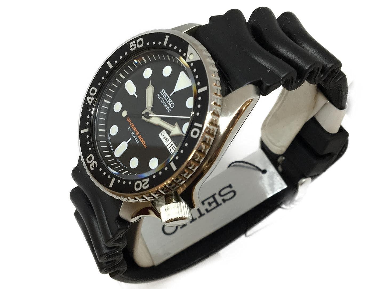 Seiko SKX007J1-200M - Reloj de Pulsera para Diario (Incluye Herramienta de botón): Amazon.es: Relojes