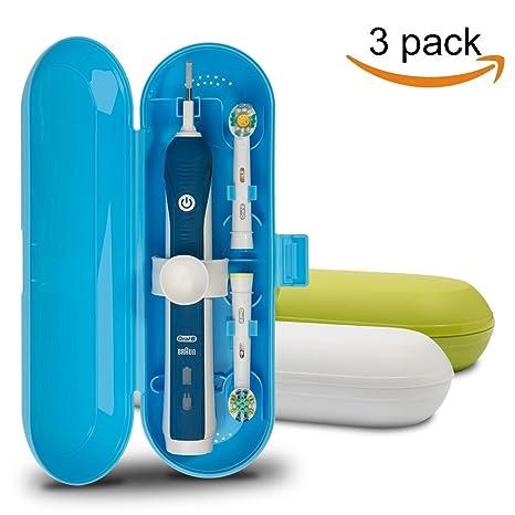 Cepillo de dientes eléctrico de plástico, funda de viaje para Oral-B Pro Series