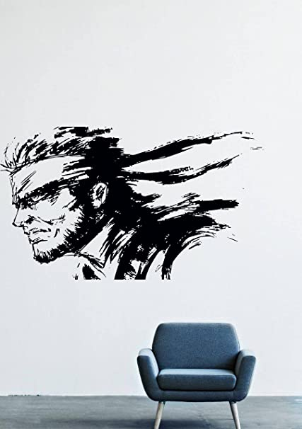 Amazon Com Wall Decals Decor Viny Metal Gear Solid Snake