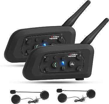 Vnetphone V6 Motorrad Intercom Bluetooth Headsets 1200m Elektronik