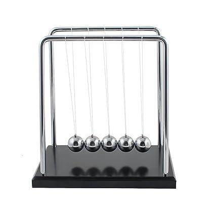 amazon com newton s cradle balance ball newton pendulum with metal