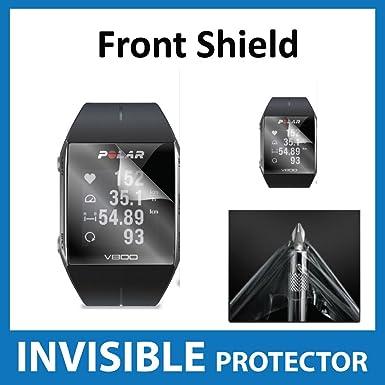 Protector de pantalla invisible, frontal, grado militar, para reloj inteligente Polar V800