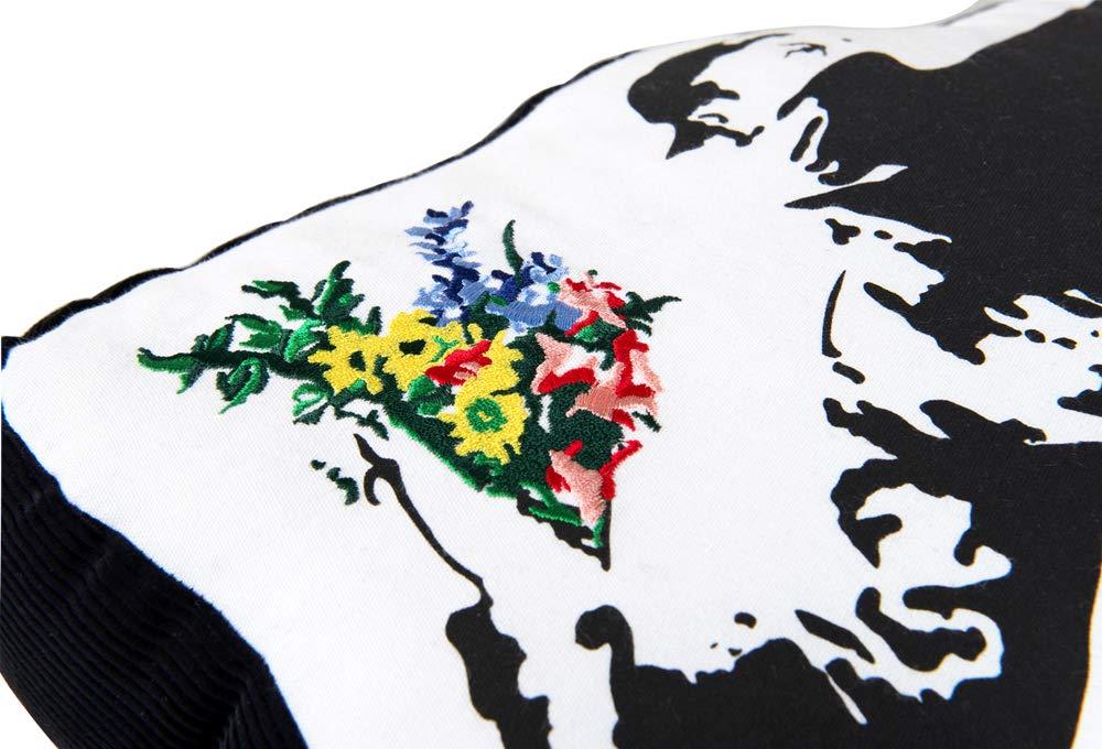 Medicom Toy SYNC Brandalism Flower Bomber Plush Cushion