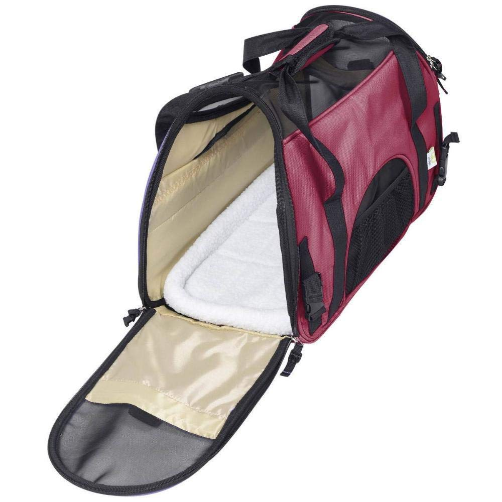 Aoligei Folding Bag with Portable Messenger Bag
