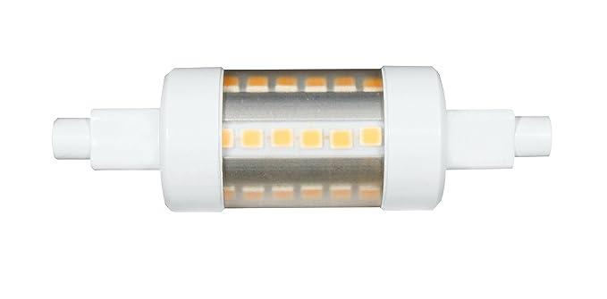 LINEAL TUBULAR 5W R7S 78MM 220V 360º LED de Beneito Faure - Blanco cálido, R7S