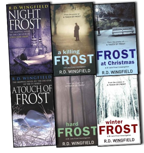 R D Wingfield Di Jack Frost Series 6 Books Collection Pack Set RRP: 50.35 A ...