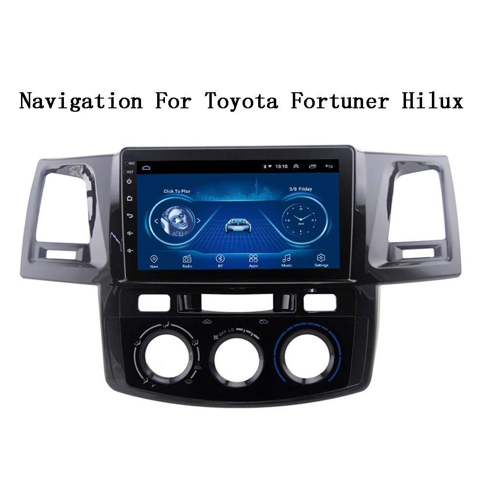 Navegaci/ón GPS para Veh/ículos Sistemas De Autom/óviles XBRMMM Android 8.1 Reproductor De Radio De Video Multimedia GPS para Coche para Toyota 2007-2015 Fortuner Hilux Navigation Stereo