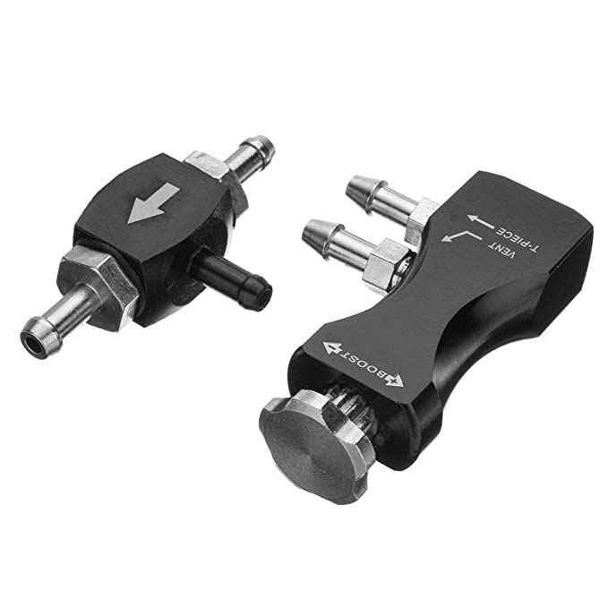 Universal Adjustable Bilateral Turbo Valve Manual Vehicle Car Boost Controller Booster Kits Fit for Most Cars Rone life: Amazon.es: Coche y moto